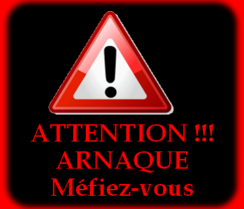 Attention - Message d'arnaque au Cameroun